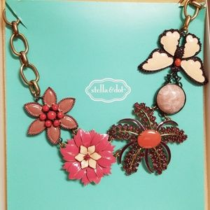 "Stella & Dot ""Garden Party"" necklace"